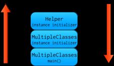 MulipleClasses Stack